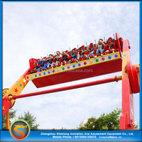 Outdoor fun fair rides adults carnival games for super thrill Top Spin