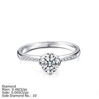 RDKD-01 Gold Jewelry 18K 14K Gold Diamond Wedding Rings