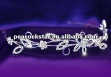 Bridal Wedding Crystal Butterfly Headband Tiara CT1078