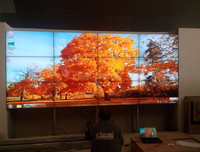 New product super narrow bezel LCD screens for indoor