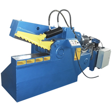 HW-100 Heavy Duty Machine Crocodile cnc laser Cutting machines metal Scrap Metal Recycling Equipment from China Supplier