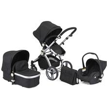 Baby Stroller 3 in 1 travel system,new design pushchair EN1888:2012 /AS NZS2088:2013 standard