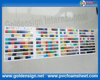 1.35mm ABS double color sheet supplier in goldensign/china abs sheet wholsaler /cnc rotary ande laser abs double color sheet
