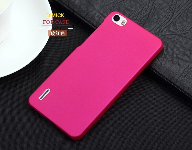 Matte Rubberized Anti-skidding Style Case for HUAWEI Honor 6 Ultra thin Hard Back Protective Cover Cell Phone Bags