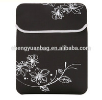 Tablet Sleeve 7 / 8 / 9 / 9.7 /10 inch Neoprene Pouch Bag Protective Case All Black for Tablet PC Notebook computer bag