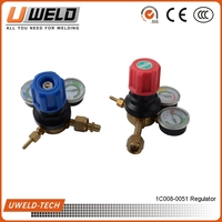 OR-16 Gas Regulator Twin gauge regulator Boss Gas Regulator