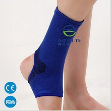 Professional Wholesale anti-slip CE Knitting and sewing breathable ankle support brace