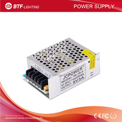 5V 3A 15W Iron led power supply AC110-220V to DC 5V for led strip