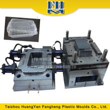 de alta calidad de plástico almuerzo contenedores molde proveedor