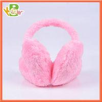 Cuetom Kids Safety Winter Heated Warm Fluffy Earmuff