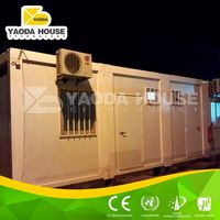 High quality top selling luxury prefab container office