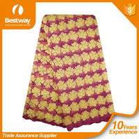 Bestway Textiles CP0121 New Arrival Thick African French Chemical Lace