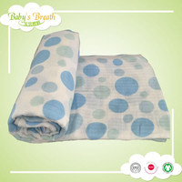 MS83 super soft touch printed baby blanket