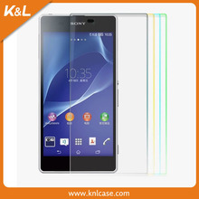 Manufacture screen protector phone for SONY Xperia tipo ST21ifor wholesales review glass screen protector