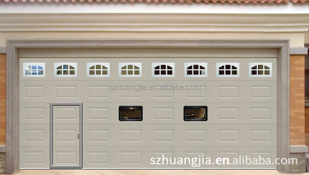 Guangdong Electric Roll Up Galvanized Steel Safe Entry Garage Doors