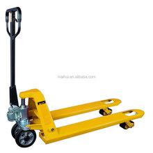 CE Certificate Yellow NL or PU Wheel Capacity 2000kg -3000kg Model CBYC Mini Hand Pallet Truck