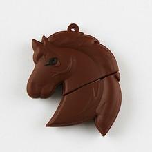 Hot selling head of horse shaped usb flash drive pendrive mini pen drive free samples wholesale accept paypal