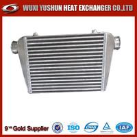manufacturer of custom made aluminum plate bar racing car intercooler radiator
