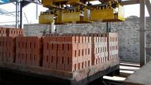Brick production line/ professional manufacturer automatic concrete blocks making machine sample