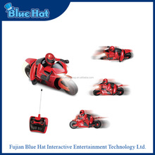 High Quality Plastic Remote Control Toy Mini Motorcycle