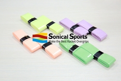 Tacky sweat-absorptive sticky tennis racket grip covers, bike handle grips, baseball grips overgrips