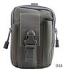 Waterproof Running Belt Bum Waist Pouch Fanny Pack Camping bag Gray