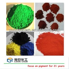 iron oxide pigment for paint/concrete color/asphalt/ceramic/brick/stain concrete