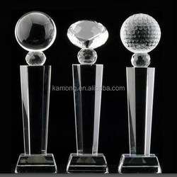 2015 newest top grade crystal trophy for world event gifts