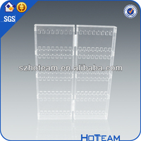 used clear acrylic jewelry display case