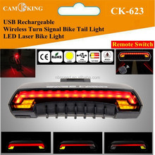 Bicycle Rear Light Mountain Bike Rear Light Wireless Remote Biycle Rear / Tail Light with Turn Signals Remote Control