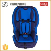Group 1+2+3, weight 9-36kg safety baby / child car seat with isofix and 5 points child car seat belts