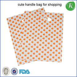 custom made pp plastic shopping bag with good quality