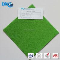 Green exhibition carpet for wedding aisle
