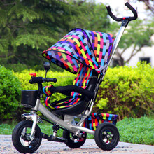2015 New style steel material high quality baby tricycle