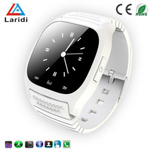 Factory price for mp3 watch touch sensitive watch cheap smart watch M26 for android and ios