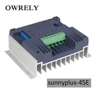 solar power charger regulator 45a 12v 24v 48v auto identified
