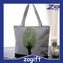 ZOGIFT Fashion non woven tote bag/polyester tote bag/plain canvas tote bag