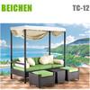 Beichen new design garden furniture outdoor bed