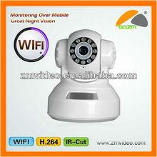 MJPEG Pan/Tilt IP camera usb pan tilt WIFI camera, pan tilt zoom mini wifi IP camera