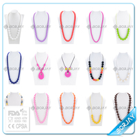 Alibaba china supplier baby silicone teething baby fashion jewelry