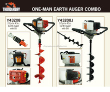 Y43Z08J Tree planting machine post hole digger one man gasoline earth auger drill
