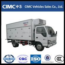 factory price mini refrigerated truck freezer cargo van