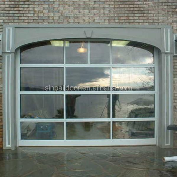 Automatic double door insulated sliding garage doors for 10 x 7 garage door prices