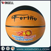 hot in bulk alibaba china all size brilliant rubber basketball