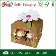 Personalized custom Elegant wholesale box cupcake design