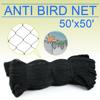 "New Anti Bird Netting Soccer Baseball Game Poultry fish Net 2""x2"" Mesh 50'X50'"