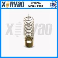 Steel vibration isolator spring