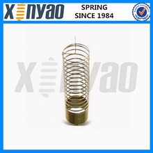 Steel vibration isolator spring