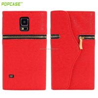 Wallet flip leather case for samsung s4