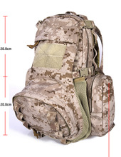 OEM backpack military 600D camping backpack military duffle bag for hiking